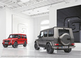 Mercedes-Benz G-Class 2017. designo manufaktur Edition (L), Exclusive Edition (R); G 350 d and G 500, G 63 d and G 65